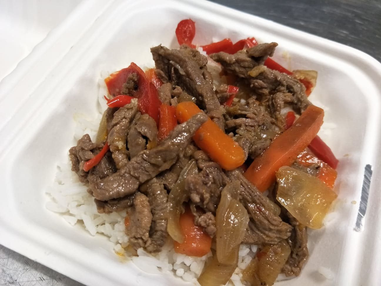 Thai Chilli Beef with Rice